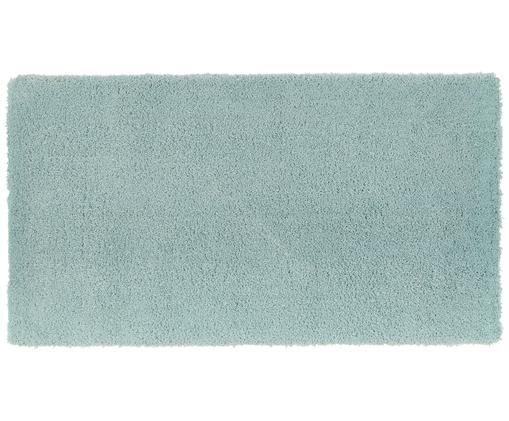 Puszysty dywan z wysokim włosiem Leighton, miętowo zielony, Zielony miętowy