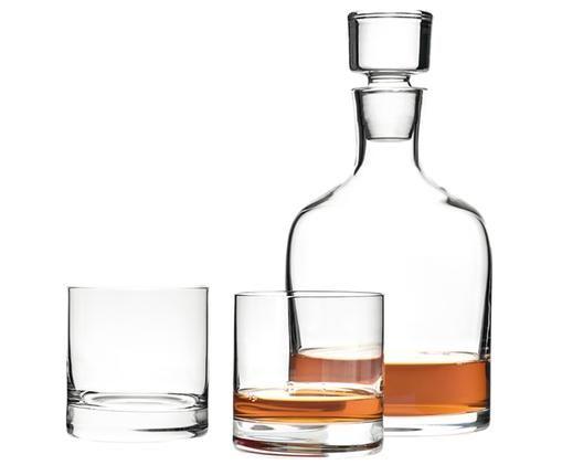 Set Whisky Ambrogio, 3 pz., Trasparente