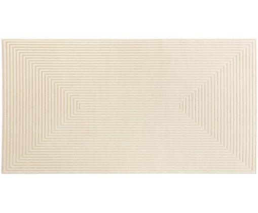 Dywan Diamond, Odcienie kremowego, jasny beżowy, S 80 x D 150 cm
