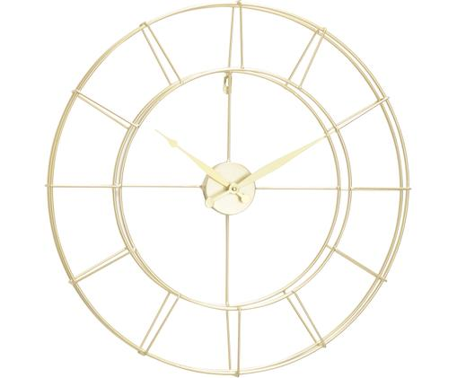 Horloge murale Alisha, Couleur dorée