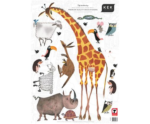 Ensemble de stickers muraux Animals, 20 élém.