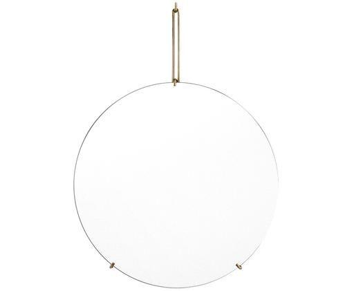 Espejo de pared Wall Mirror, Suspensión: latón Espejo: cristal