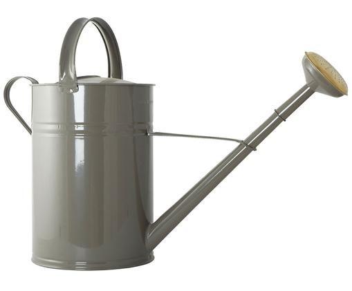 Konewka Nanny, Metal lakierowany, Szary, odcienie mosiądzu, S 22 x W 45 cm
