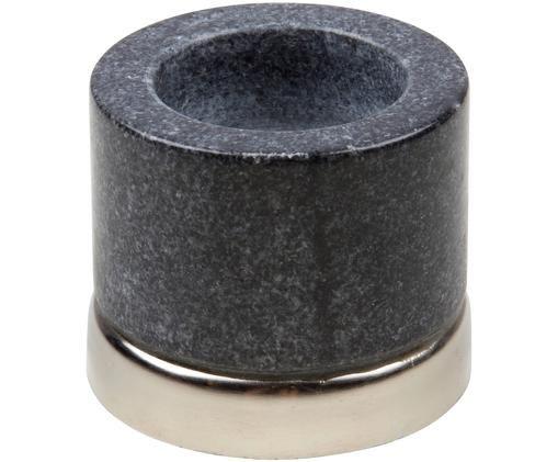Teelichthalter Porter, Sockel: Metall Kerzenhalter: Marmor