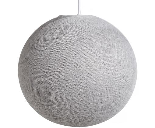 Lampada a sospensione Colorain, Grigio pietra, Ø 41 x Alt. 135 cm