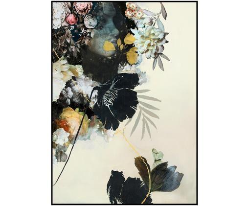 Gerahmter Digitaldruck Haute Couture, Bild: Digitaldruck auf Papier (, Rahmen: Hochdichte Holzfaserplatt, Mehrfarbig, 30 x 40 cm