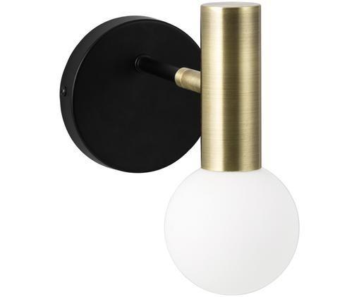 Applique a LED Wilson, Nero, dorato