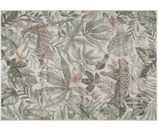 Dywan Sambre, Zielony, miedzianobrązowy, beżowy, S 120 x D 170 cm (Rozmiar S)