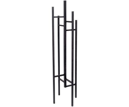 Moderne Garderobe Eigen mit 5 Haken, Schwarz