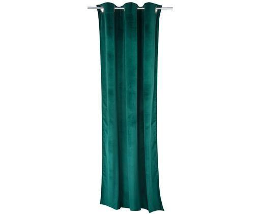 Tenda in velluto French, Pino verde