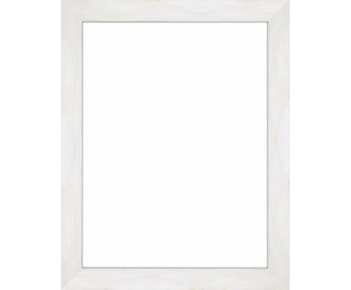 Cornice fotografica Magic, Cornice: legno di pino Monterey ve, Retro: Pannello di fibra a media, Bianco, 18 x 24 cm