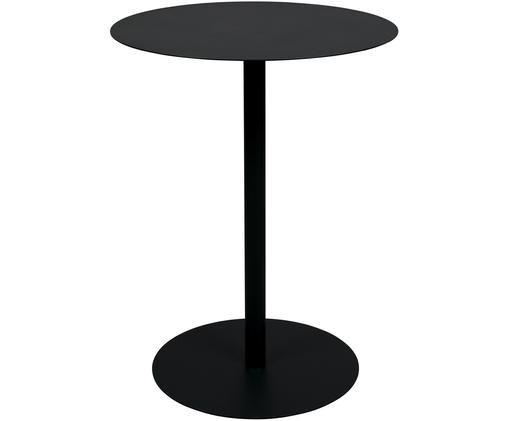 Table de bistro ronde Snow, Noir