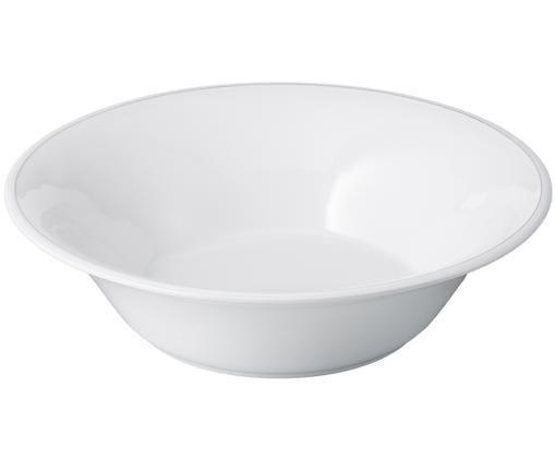 Ensaladera Constance, Cerámica, Blanco, Ø 30 x Al 9 cm