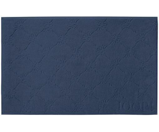 Badvorleger Cornflower, Webart: Walkfrottee, Marineblau, 50 x 80 cm