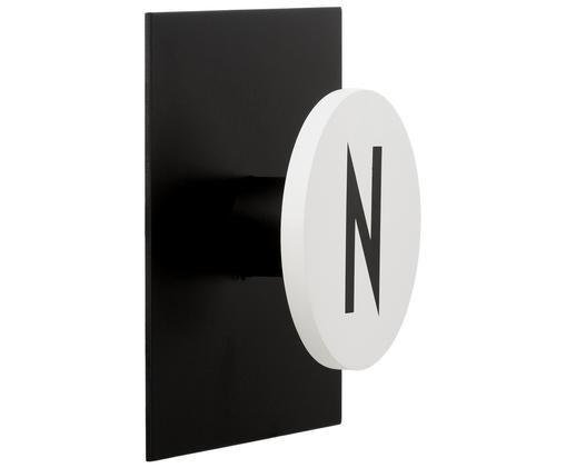 Gancio da parete N, Nero, bianco
