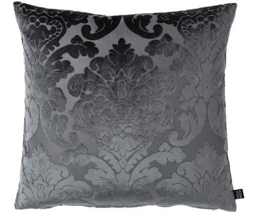 Cuscino in velluto Chateau, Antracite