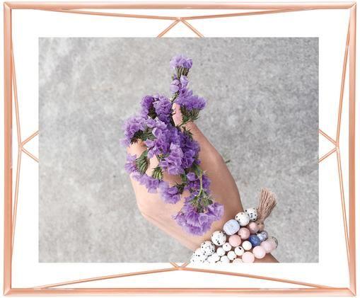 Ramka na zdjęcia Prisma, Odcienie miedzi, 20 x 25 cm
