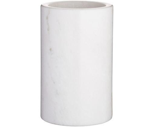 Cooler z marmuru Charlie, Biały, marmurowy