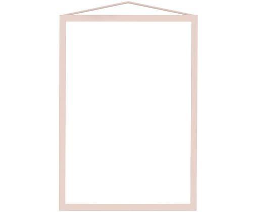 Bilderrahmen Colour Frame, Rahmen: Stahl, pulverbeschichtet, Rosa, 21 x 30 cm