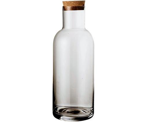 Jarra Clearance, Tapa: corcho, Gris, transparente, 1 L
