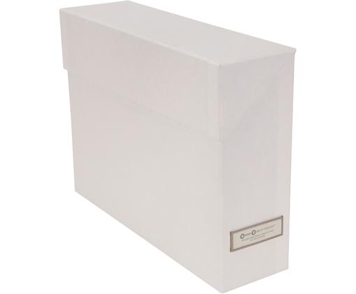 Aktenorganizer Lovisa, 13-tlg., Organizer: Fester, laminierter Karto, Weiß, 33 x 24 cm