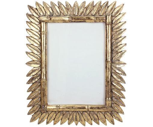 Fotolijstje Sun, Lijst: polyresin, Messingkleurig, 13 x 18 cm