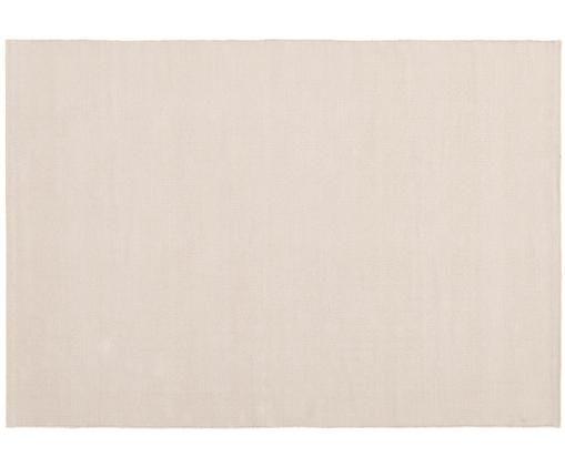 Ręcznie tkany dywan z bawełny Agneta, Bawełna, Taupe, S 160 x D 230 cm