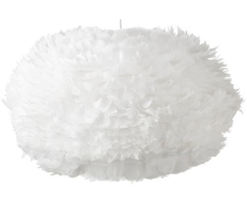 Lámpara de techo de plumas Eos, Blanco
