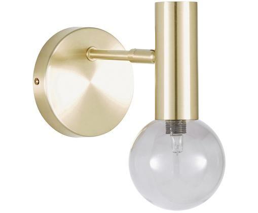 LED Wandleuchte Wilson, Messing