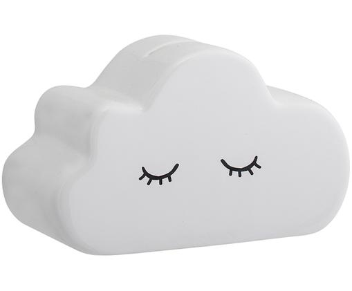 Skarbonka Cloud, Dolomit, Biały, czarny, S 15 x W 9 cm