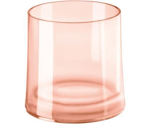 Bicchieri per l'acqua in materiale sintetico infrangibile Cheers, Rosa quarzo trasparente