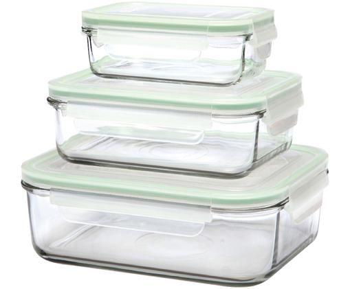 Komplet pojemników do przechowywania żywności Alma, 3elem.