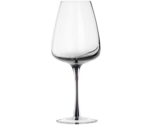 Kieliszek do białego wina ze szkła dmuchanego Smoke, 4 szt.