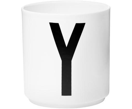 Mug Personal (variantes deA à Z), Blanc, noir