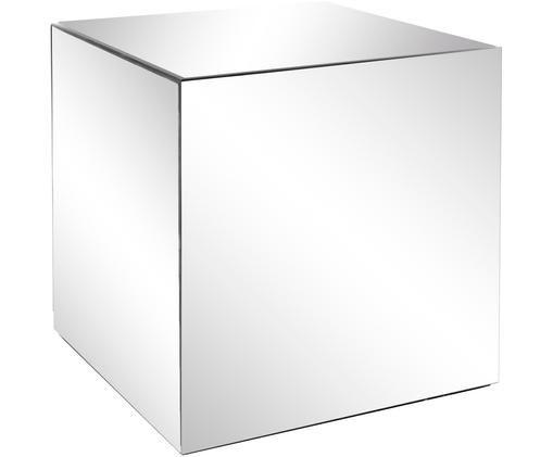 Tavolino a specchio Luxury, Superficie: lastra di vetro, Lastra di vetro, Larg. 45 x Prof. 45 cm