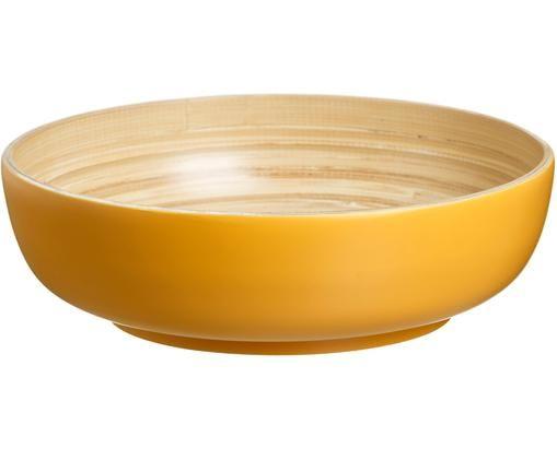Miska z drewna bambusowego Panda, Żółty