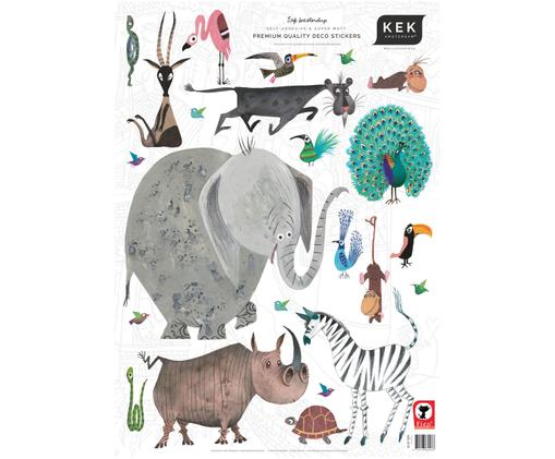 Ensemble de stickers muraux Animals, 23 élém.