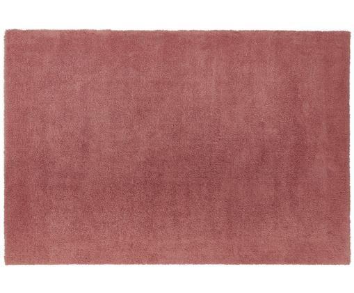 Tapis épais et moelleux terre cuite Leighton, Terre cuite