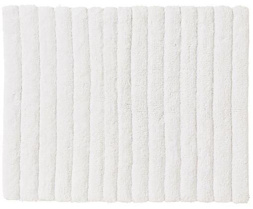Tapis de bain moelleux Board, Blanc