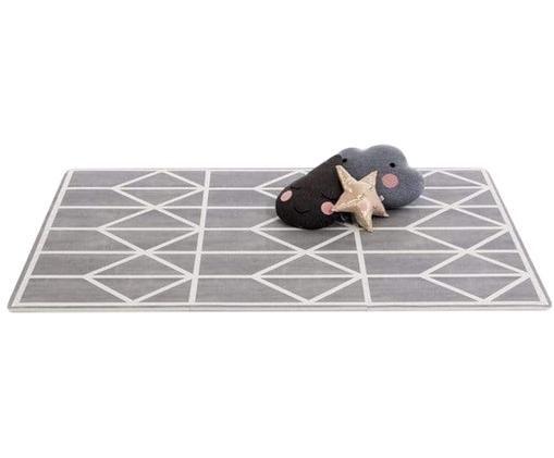 Erweiterbares Spielmatten-Set Nordic, 18-tlg., Schaumstoff (EVAC), schadstofffrei, Grau, Creme, 120 x 180 cm