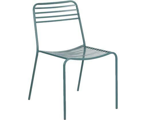 Chaises de balcon en métal Tula, 2 pièces