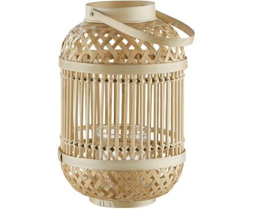 Świecznik Bamboo Nights, Drewno bambusowe, Drewno bambusowe, Ø 20 x W 30 cm