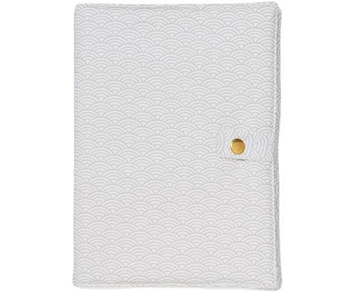 Housse de protection Wave, Gris, blanc