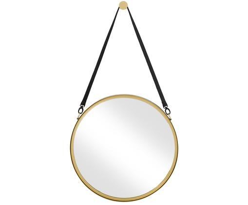 Wandspiegel Liz, Spiegelfläche: Spiegelglas, Gold, Ø 60 cm