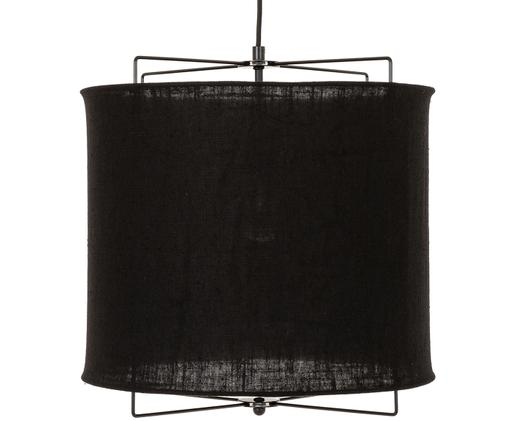 Lampa wisząca Clouds, Czarny, Ø 40 x W 40 cm