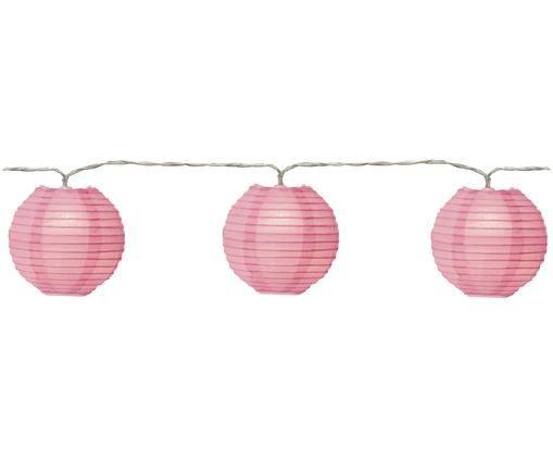 Girlanda świetlna LED Festival, Blady różowy, D 300 cm
