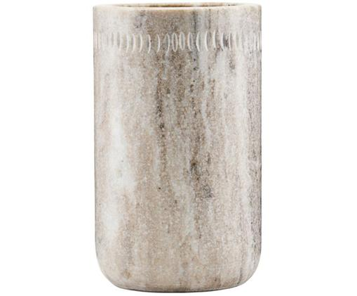Porte ustensiles de cuisine en marbre Marble, Blanc