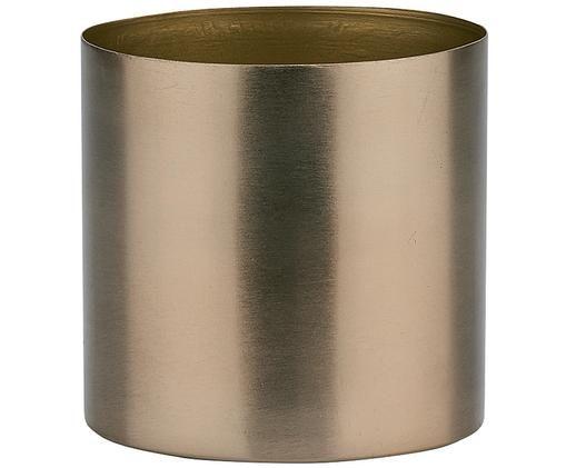 Portavaso Stella, Metallo rivestito, Bronzo, Ø 11 x Alt. 11 cm