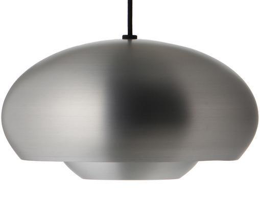 Skandi-Pendelleuchte Champ, Lampenschirm: Aluminium, gebürstet, Aluminium, Ø 30 x H 17 cm
