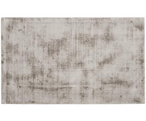 Ręcznie tkany dywan z wiskozy Jane, Taupe